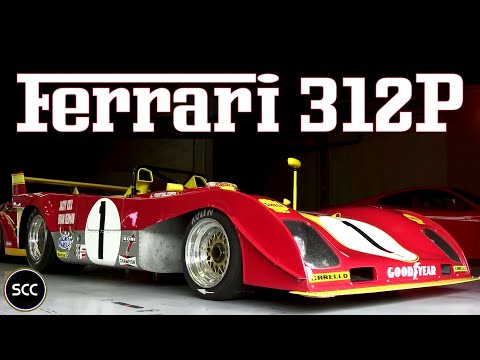 FERRARI 312 PB - Jacky Ickx - Modena Trackdays 2013 - Flat 12 Engine - Revs - Downshifts | SCC TV
