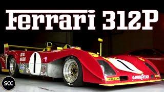 ferrari 312 pb jacky ickx modena trackdays 2013 flat 12 engine revs downshifts   scc tv