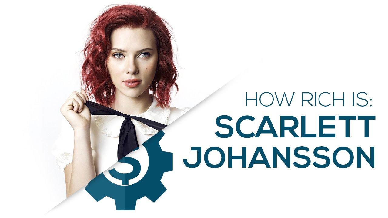 Scarlett Johansson Net Worth 2018 - YouTube