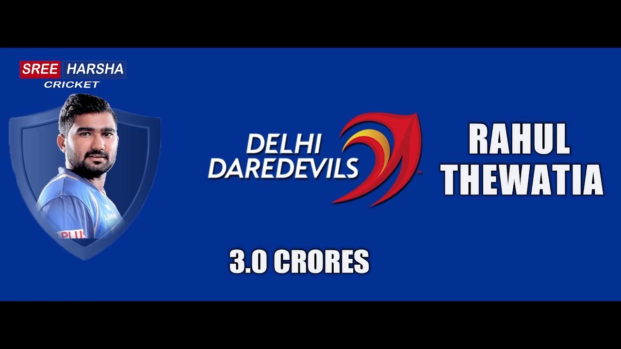 IPL 2018 Delhi DareDevils Full Team List ▶ Official Squad ▶ Gambhir Captain