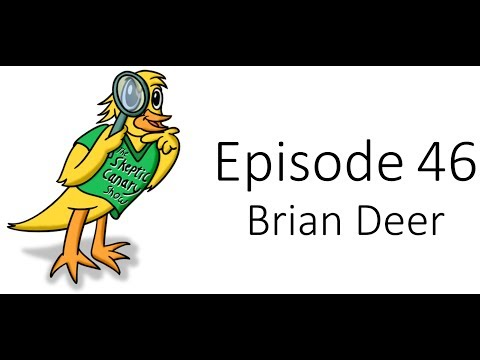Ep46 - Brian Deer - Skeptic Canary Show