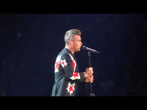 Better Man - Robbie Williams - 20 Feb 2018 Brisbane