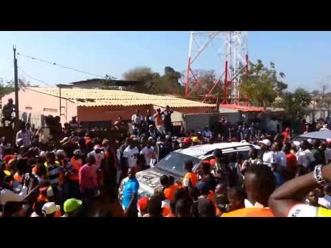 WERRASON LUANDA 2013 FETE KABUSCORP A PALANCA CHAMPION D'ANGOLA 2013 PAR ADT YANKI MPUY