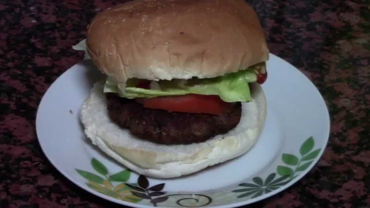 Hamburguesa casera recetas de cocina faciles rapidas y for Comidas economicas y rapidas de preparar