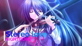 Nightcore Stereo Love Version Violin
