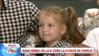 Radu Sarbu, de la O-ZONE, la o viata de familie
