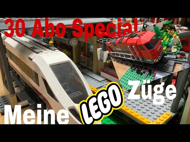 30 Abonnenten Special | Meine Lego Züge