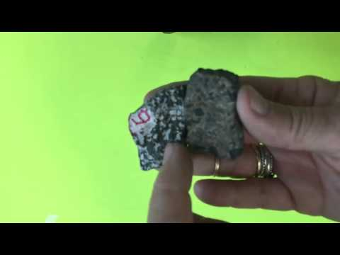 Rocks to know (most important rocks in the Earth crust)