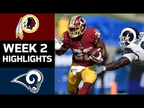 Redskins vs. Rams | NFL Week 2 Game Highlights