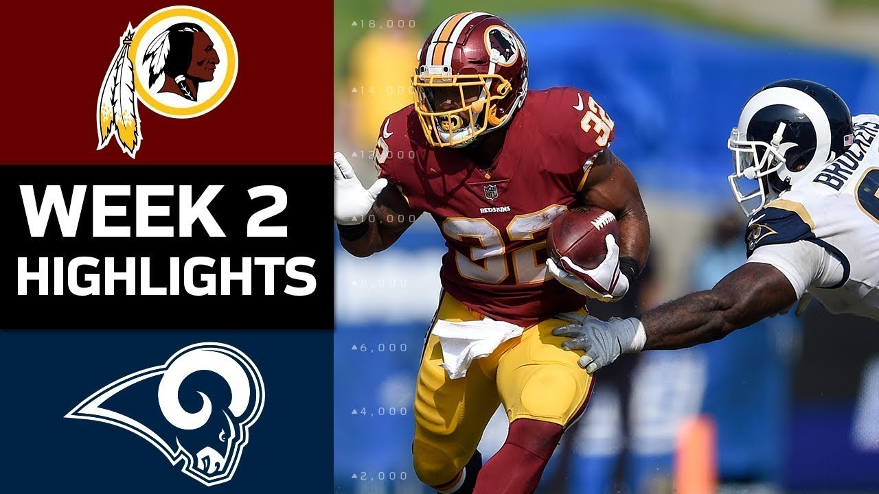 Redskins vs rams nfl week 2 game highlights youtube redskins vs rams nfl week 2 game highlights voltagebd Image collections