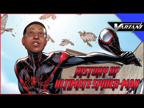 History Of Ultimate Spider-Man! (Miles Morales)