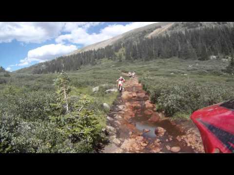Dirt Bike Trail riding shortcut hancock pass to alpine tunnel