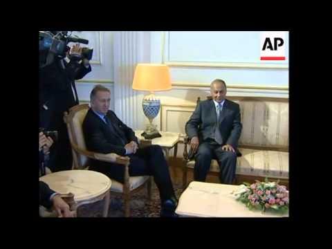 UN secretary general meets Egyptian president