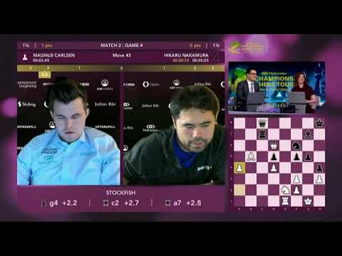 Download Magnus Carlsen's reaction after winning new chess classic 2021 finale against hikaru nakamura