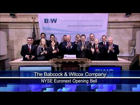 15 December 2010 The Babcock & Wilcox Company Visits the NYSE