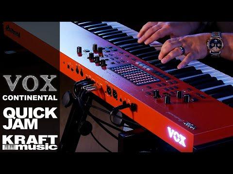 Vox Continental Performance Keyboard - Quick Jam