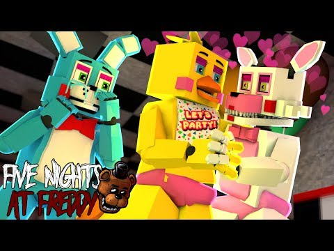 Minecraft : FIVE NIGHTS AT FREDDY'S - TOY CHICA BEIJOU A MANGLE #24