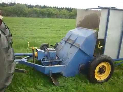 Kidd Flail Mower With Grass Collector Youtube
