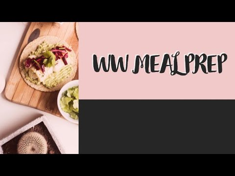 WW WEEKLY MEAL PREP | COPYCAT CHIPOTLE BURRITO BOWL | WEIGHT WATCHERS!!