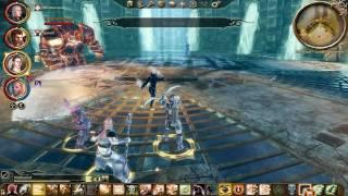 Dragon Age Origins - Awakening - Inferno Golem - Gameplay HD