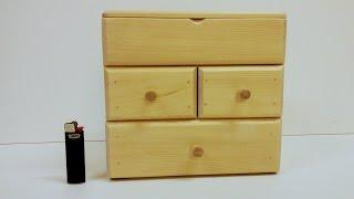 Мини-мебель из березы. Как сделать? Mini furniture. How to do?