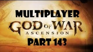 God Of War Ascension Multiplayer Part 143 ~ Sword Of Orion Gameplay