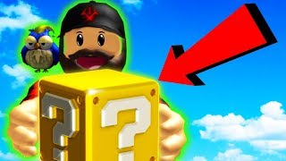 SECRET WEAPON IN LUCKYBLOCKU? | ROBLOX #admiros