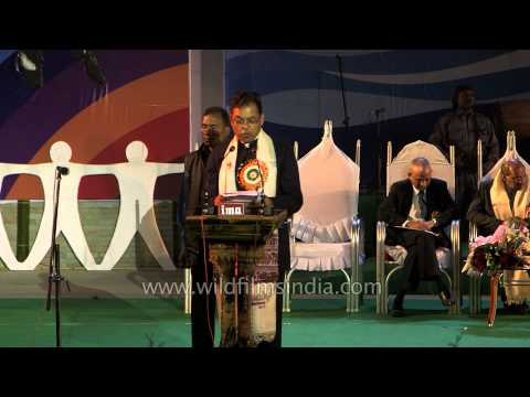 Speech delivered by Parliamentary Affairs Minister Paban Singh Ghatowar - Sangai Fest 2013
