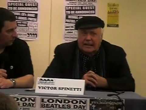 Victor Spinetti at London Beatles Day