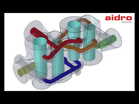 Aidro 3D printing hydraulic manifold: Design and Production