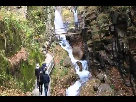 The Flume Gorge in October