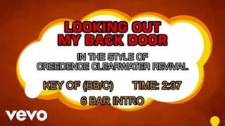 Creedence Clearwater Revival - Lookin' Out My Back Door (Karaoke)