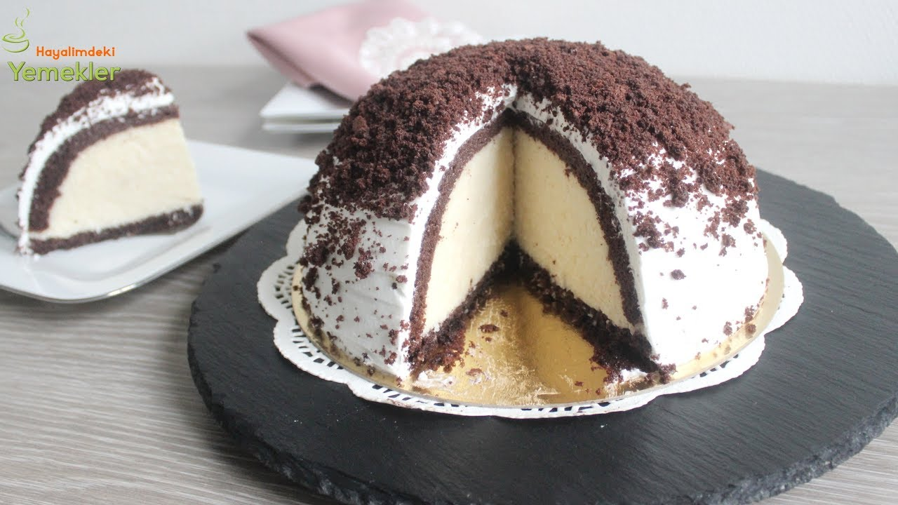 Çikolatalı ve muzlu kek. Yemek sırrı