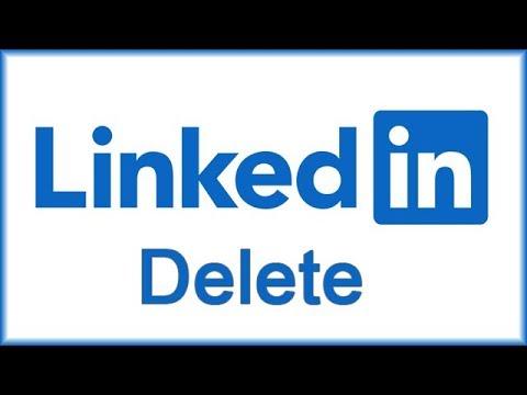 Как удалить аккаунт LinkedIn