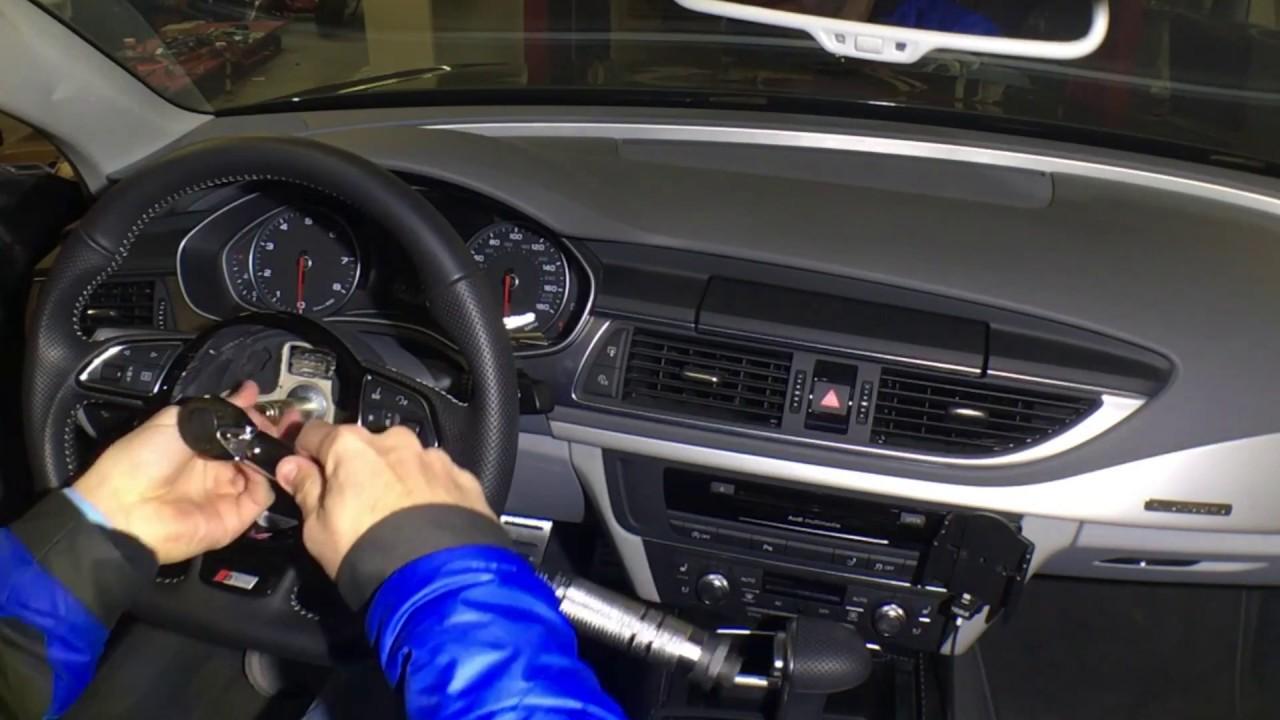 audi steering wheel airbag removal youtube. Black Bedroom Furniture Sets. Home Design Ideas