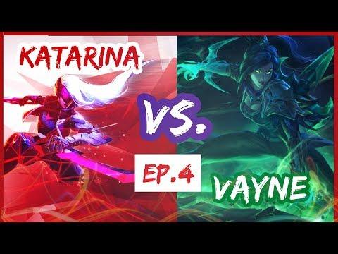 Katarina vs Vayne Montage EP.4 - Battle of Champions Compilation | League of Legends