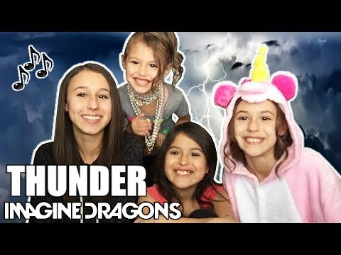 Imagine Dragons • THUNDER • Cover by The Sierra Sisters• Bro