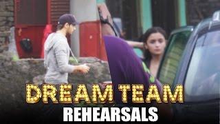 Alia Bhatt & Sidharth Malhotra Spotted At DREAM TEAM Dance Rehearsals