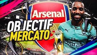 FIFA 19 | CARRIÈRE ARSENAL : OBJECTIF MERCATO !