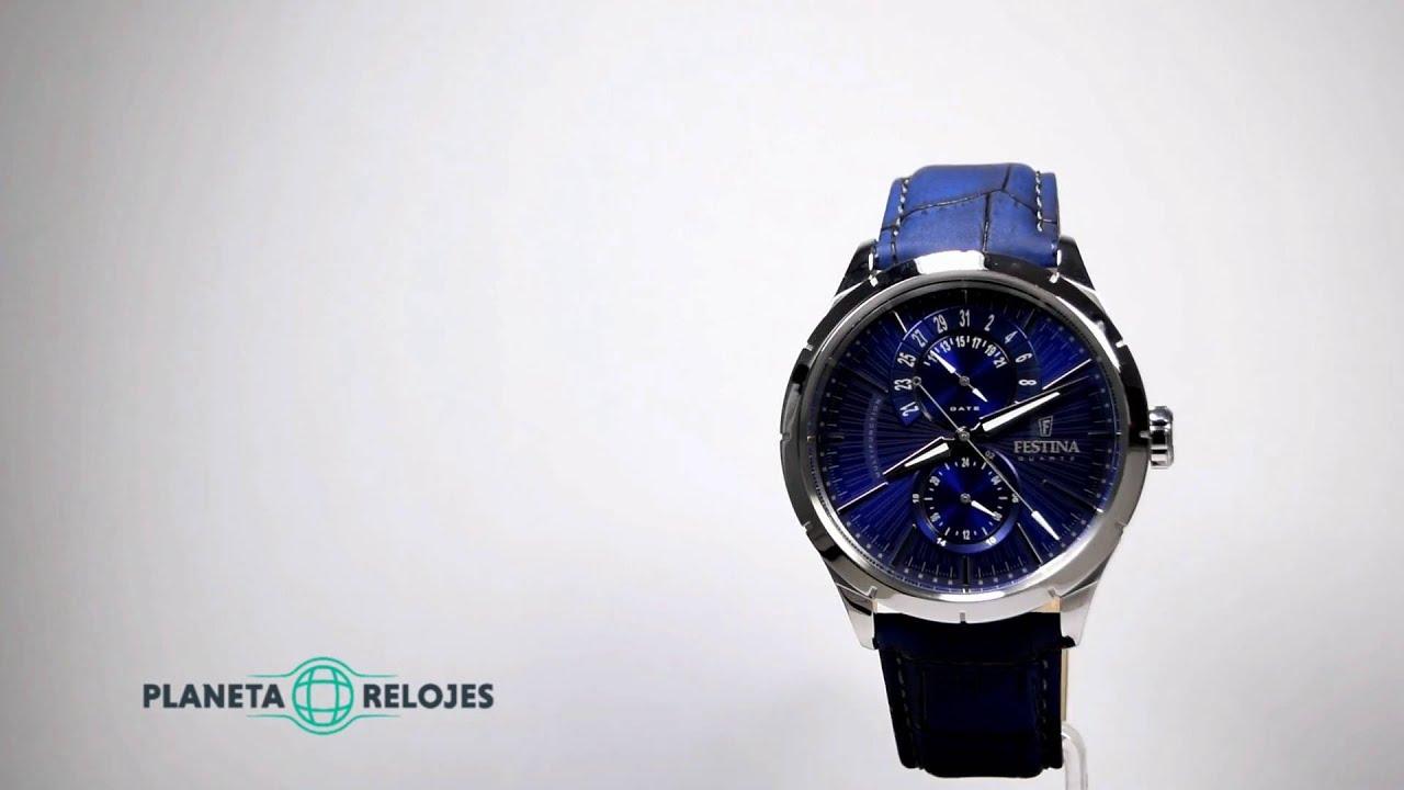e370c5b9b4fe Reloj Festina F16573-7 - YouTube