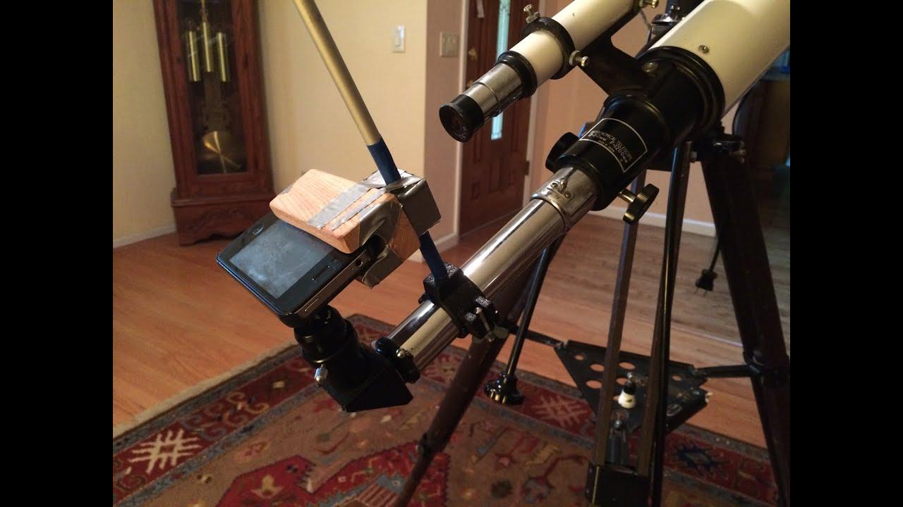 the latest 145b5 c9333 Tutorial: Telescope iPhone Mount