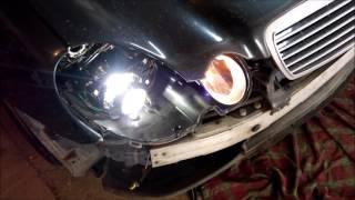 Замена штатных биксеноновых линз Mercedes(, 2016-01-19T14:03:04.000Z)