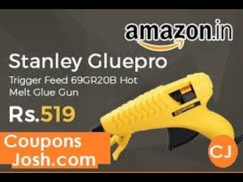 Best Glue Gun lowest price in amazon : Unboxing Review of Glue Gun