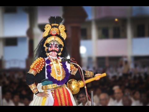 Cultural Program by the Students of Sri Sathya Sai School, Bhadravati, Shivamogga Dist.,  Karnataka