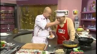 Китайская кухня - Серия 30:  1. Отварные грибы в масле 2. Тушеный каофу с креветками