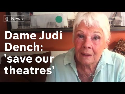 Dame Judi Dench on saving theatres from oblivion and becoming a TikTok star
