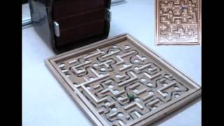 Utah Telerobotics: Omnimagnet Playing Labyrinth Game