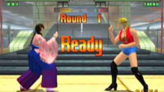 Virtua Fighter 3tb Game Sample - Dreamcast