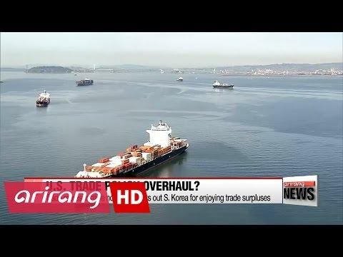 U.S. trade representative nominee singles out S. Korea for enjoying trade surpluses