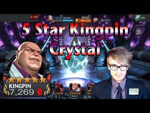 5 Star Kingpin (Crime Lord) Crystal [The CEO Approach] | Marvel: Contest of Champions streaming vf